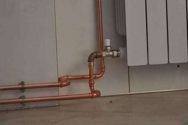 Обзор медных труб для водопровода