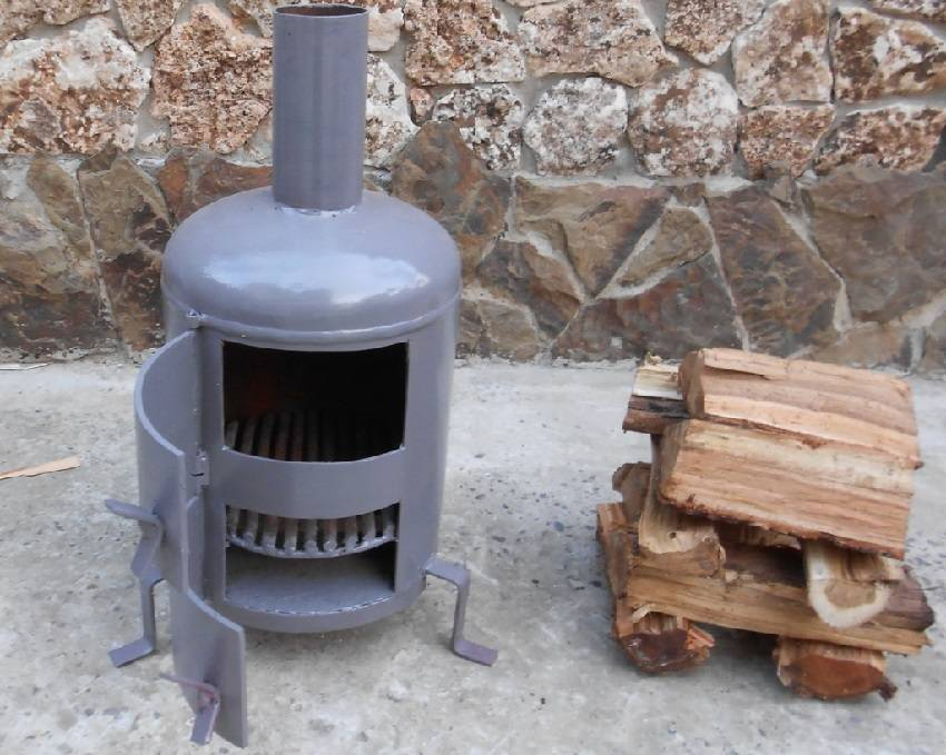 Печь для гаража своими руками: металлическую, длительного горения, кирпичную