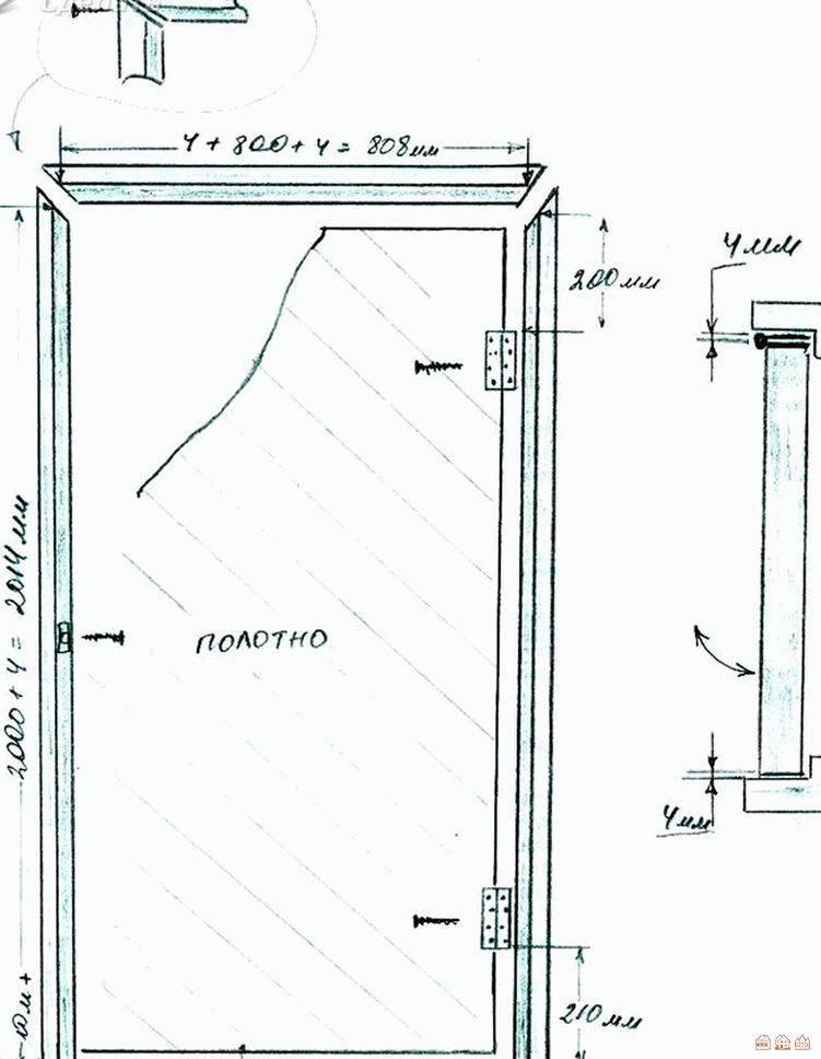 Как установить межкомнатную дверь своими руками: пошаговая инструкция