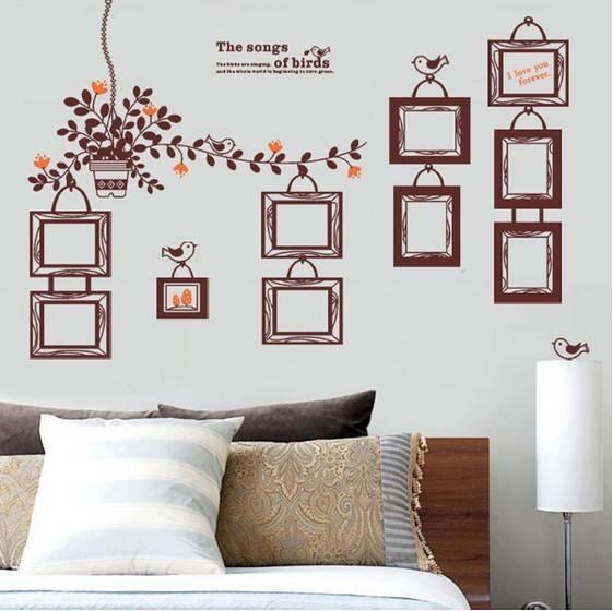 Декоративные наклейки на стену — стикеры. рекомендации по выбору, варианты, виды