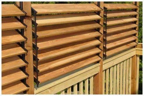 Деревянные жалюзи: основные разновидности, установка и изготовление