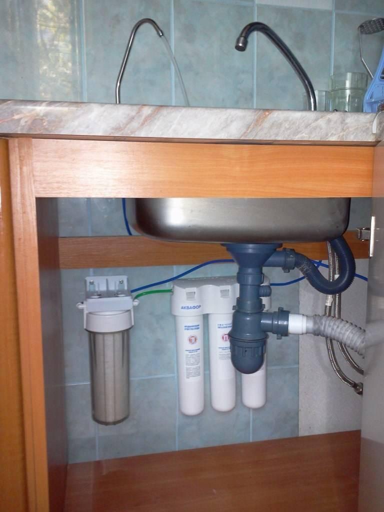 Фильтры для воды под мойку их виды, и какой лучше