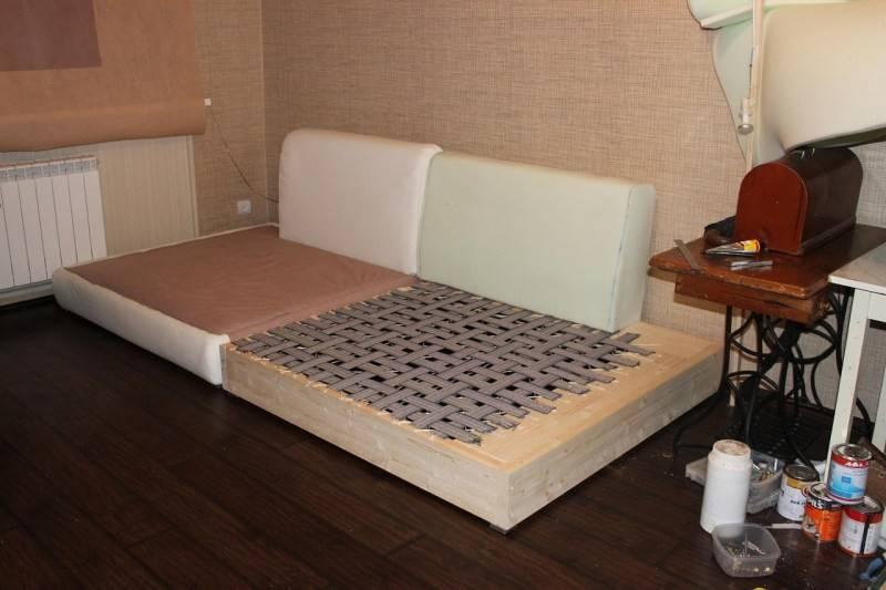 Диван-кровать своими руками: изучаем чертежи, подготавливаем материалы, чтобы сделать мебель трансформер в домашних условиях по предложенному мастер-классу