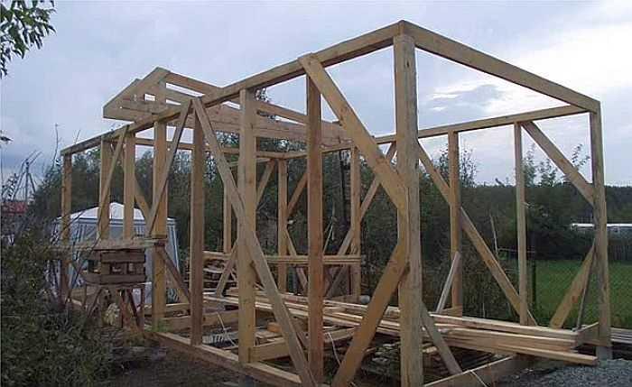 Гараж своими руками (124 фото): особенности строительства, как дешево построить из кирпича, как сделать постройку самому