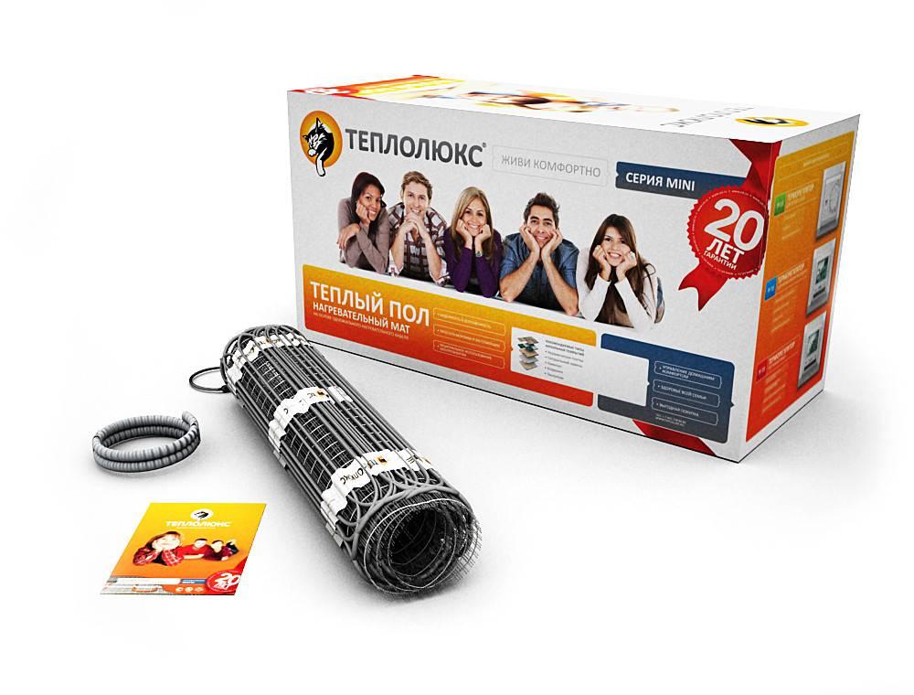 Нагревательные маты для теплого пола теплолюкс - купить на официальном сайте производителя