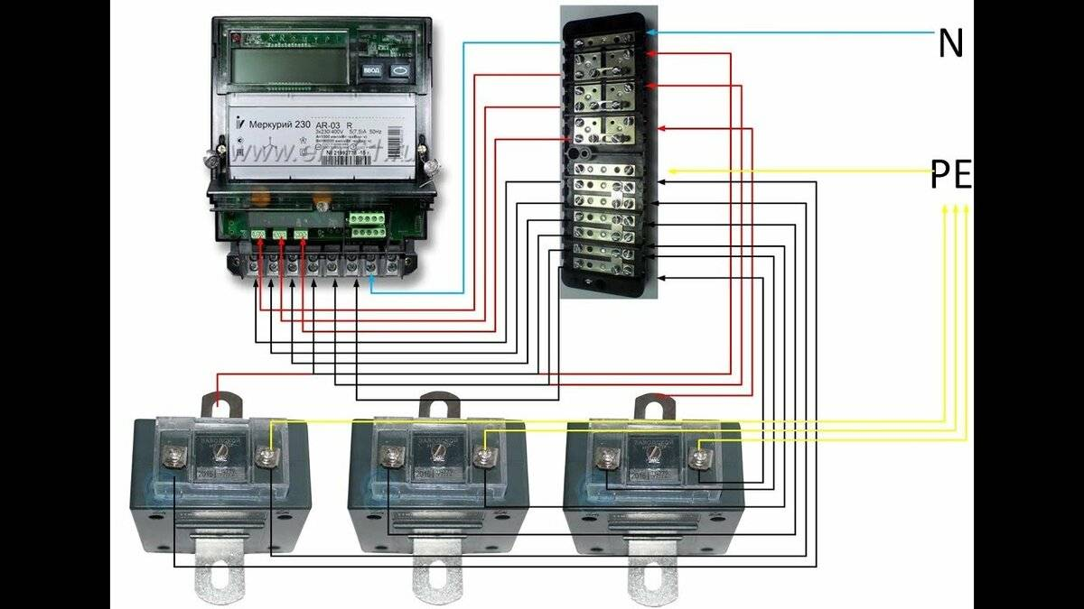 Меркурий 230 схема подключения через трансформаторы - tokzamer.ru