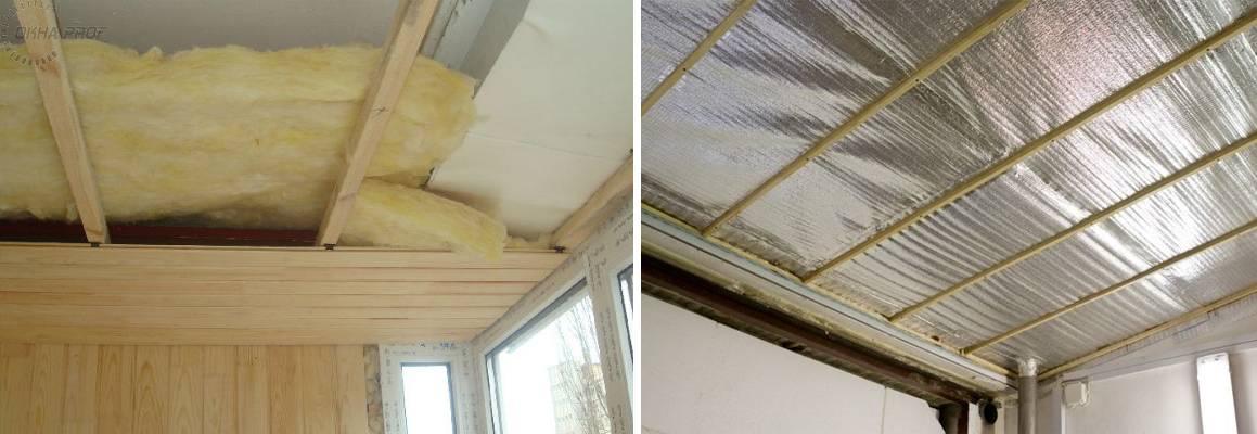 Тонкости утепления потолка в доме с холодной крышей