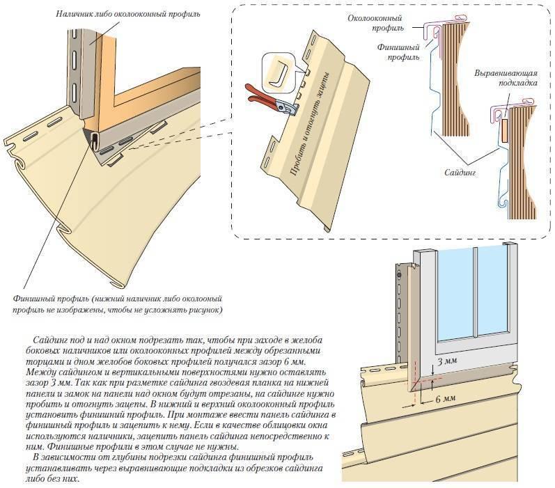 Монтаж винилового сайдинга своими руками, пошаговая инструкция