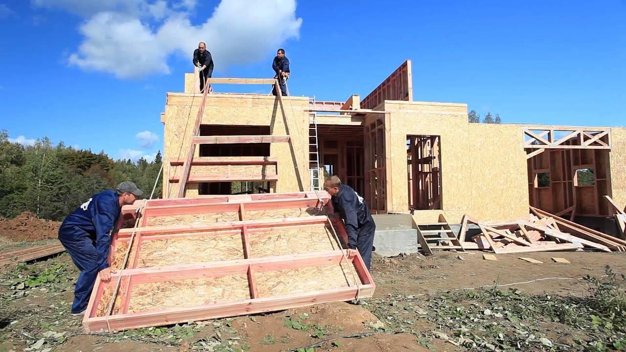 Все про канадскую технологию строительства каркасных домов