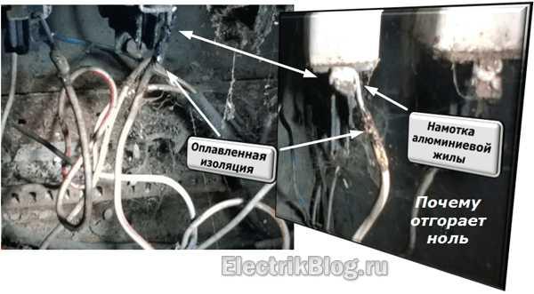 Отгорание нуля в трехфазной сети - всё о электрике в доме