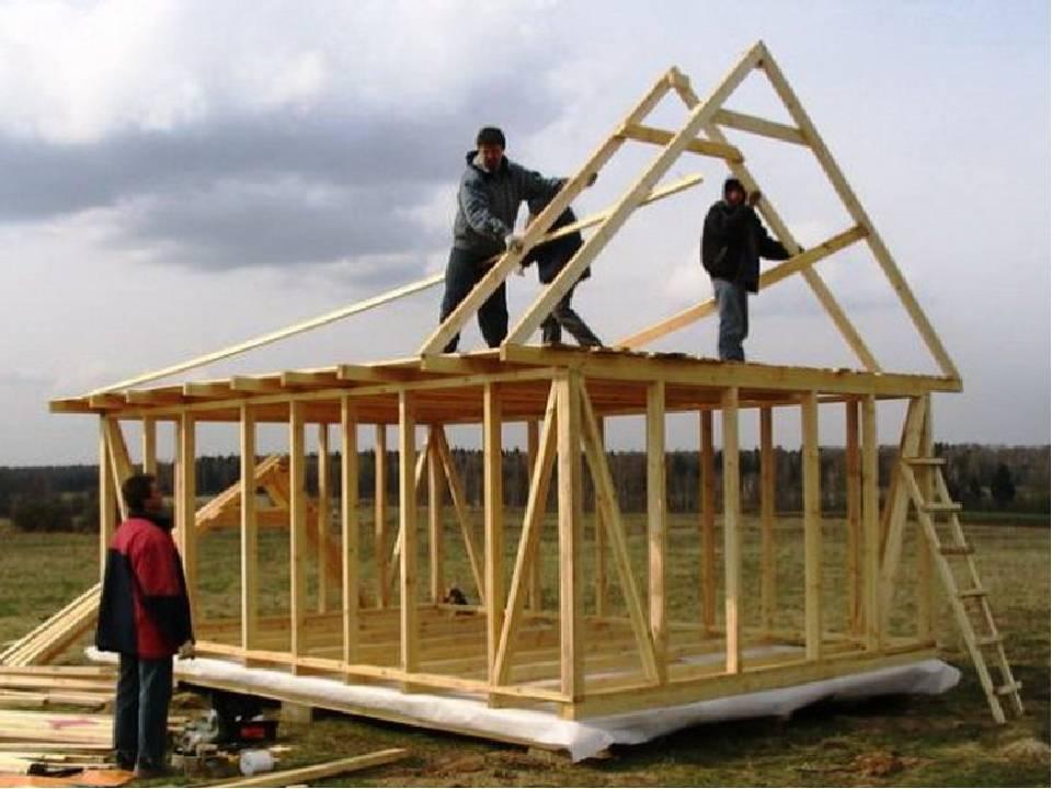 Как построить садовый домик своими руками: пошаговая инструкция