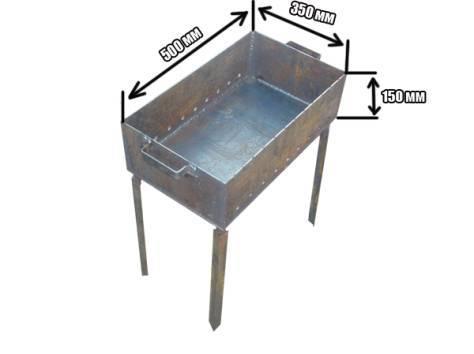 Мангалы из металла (81 фото): выбор размера металлического приспособления для шашлыка, варианты из железных труб, зона для барбекю, красивые изделия