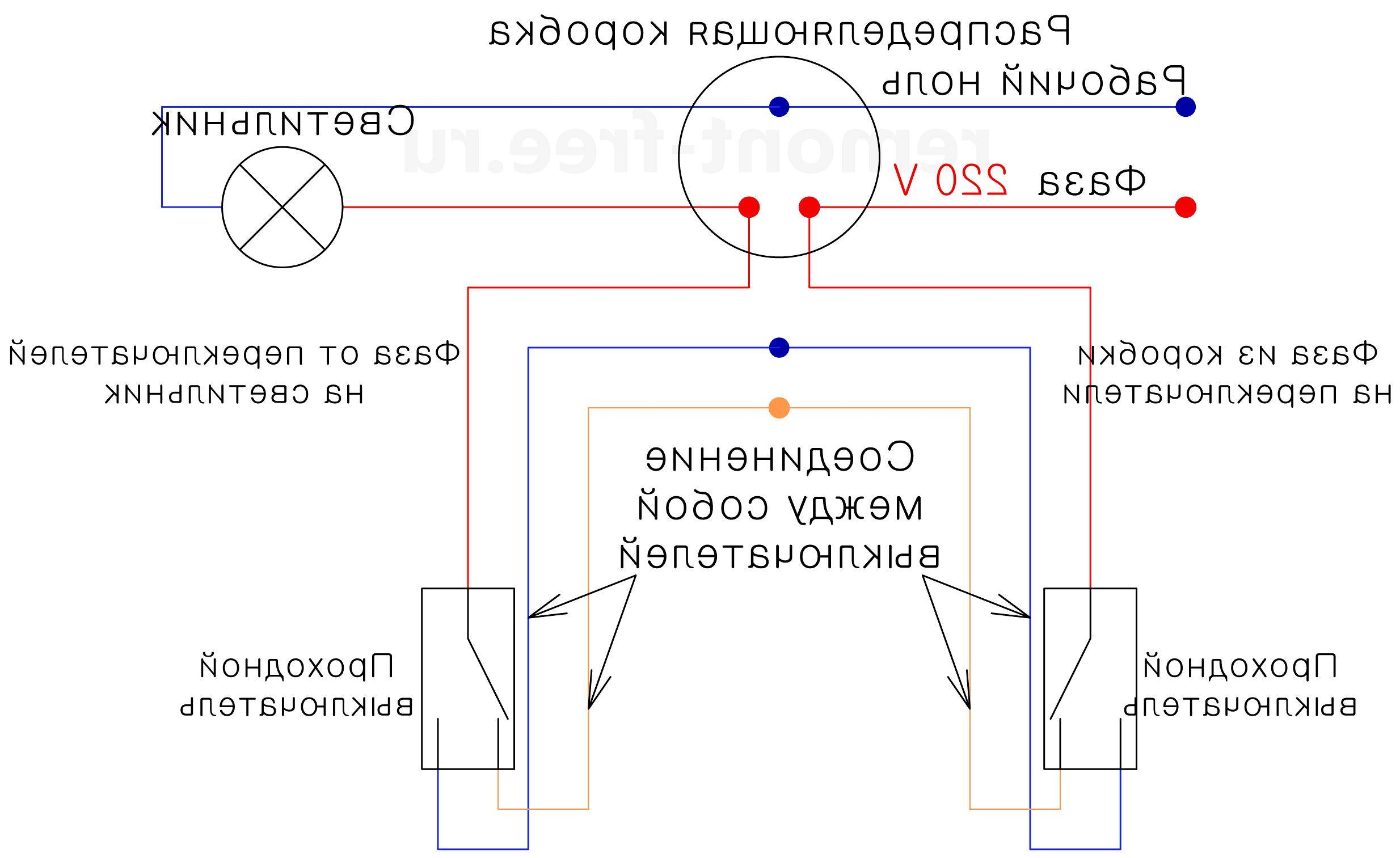 Проходной выключатель: 100 фото простой и быстрой схемы подключения
