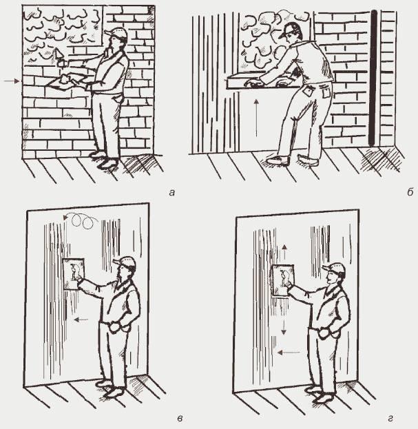 Подготовка поверхности под оштукатуривание: готовим стены к штукатурке правильно