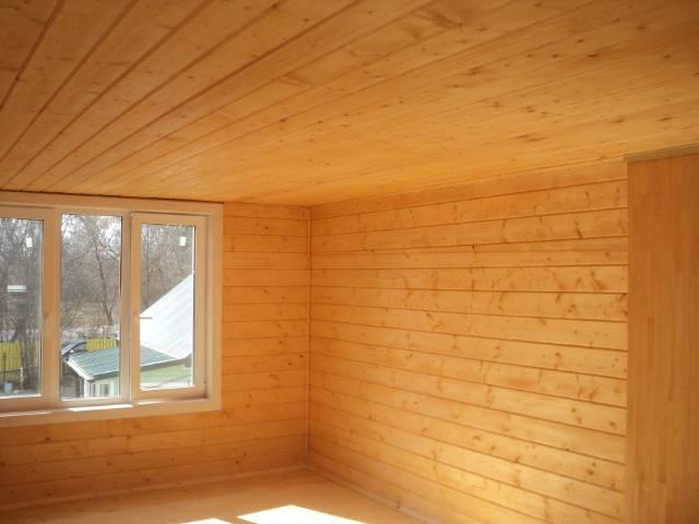Чем можно обшить стены в деревянном доме