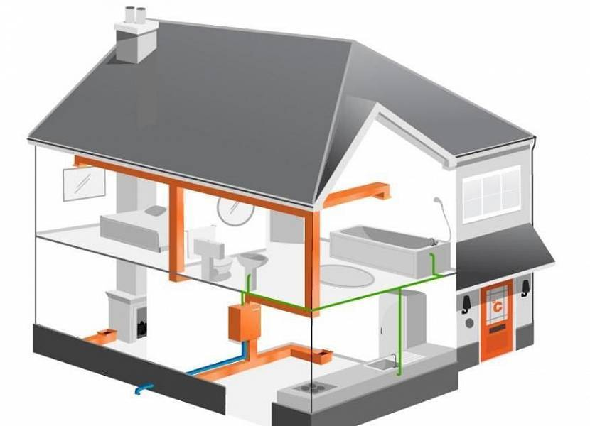 Принцип работы и особенности системы воздушного отопления