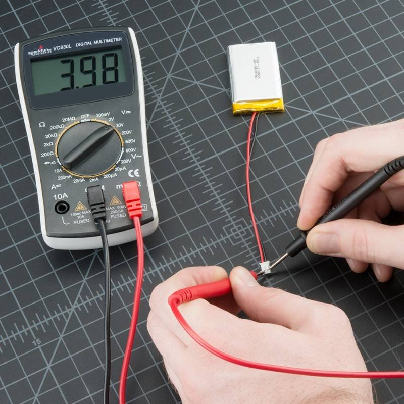 Как замерить силу тока мультиметром