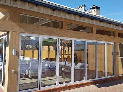 Как пристроить веранду к дому - варианты пристроек для различных домов, смотрите идеи и инструкции на фото