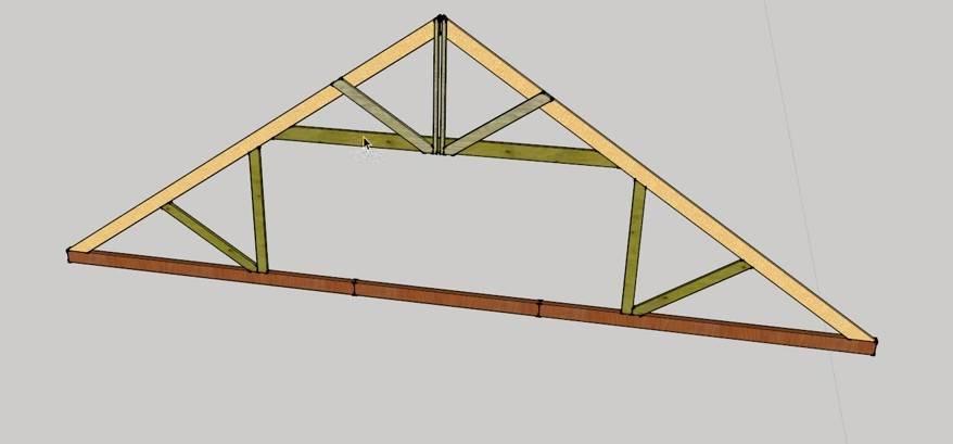 Инструкция по монтажу двухскатной крыши