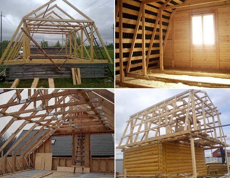 Устройство мансардной крыши дома: конструкция, виды, варианты