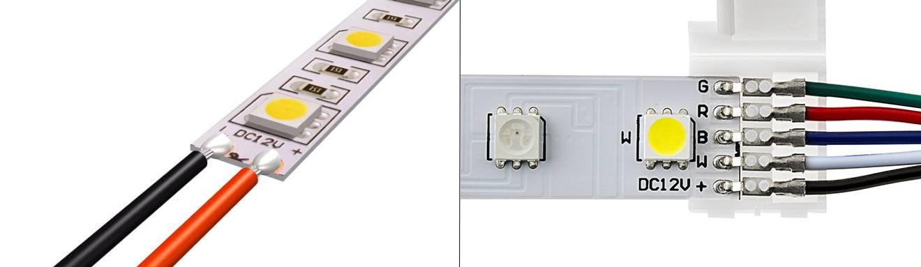 Светодиодная лента— особенности, комплектация, применение