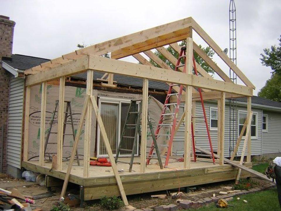 Пристройка к деревянному дому: варианты изготовления