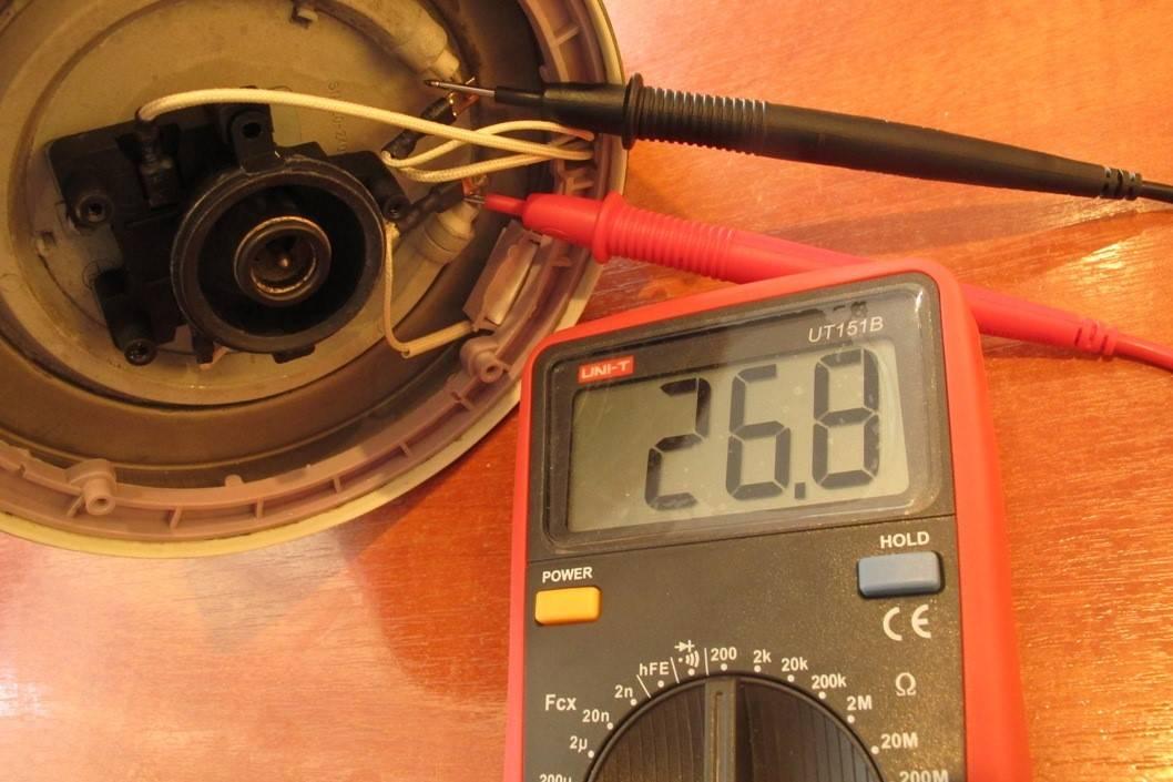 Как проверить тэн мультиметром: самостоятельно