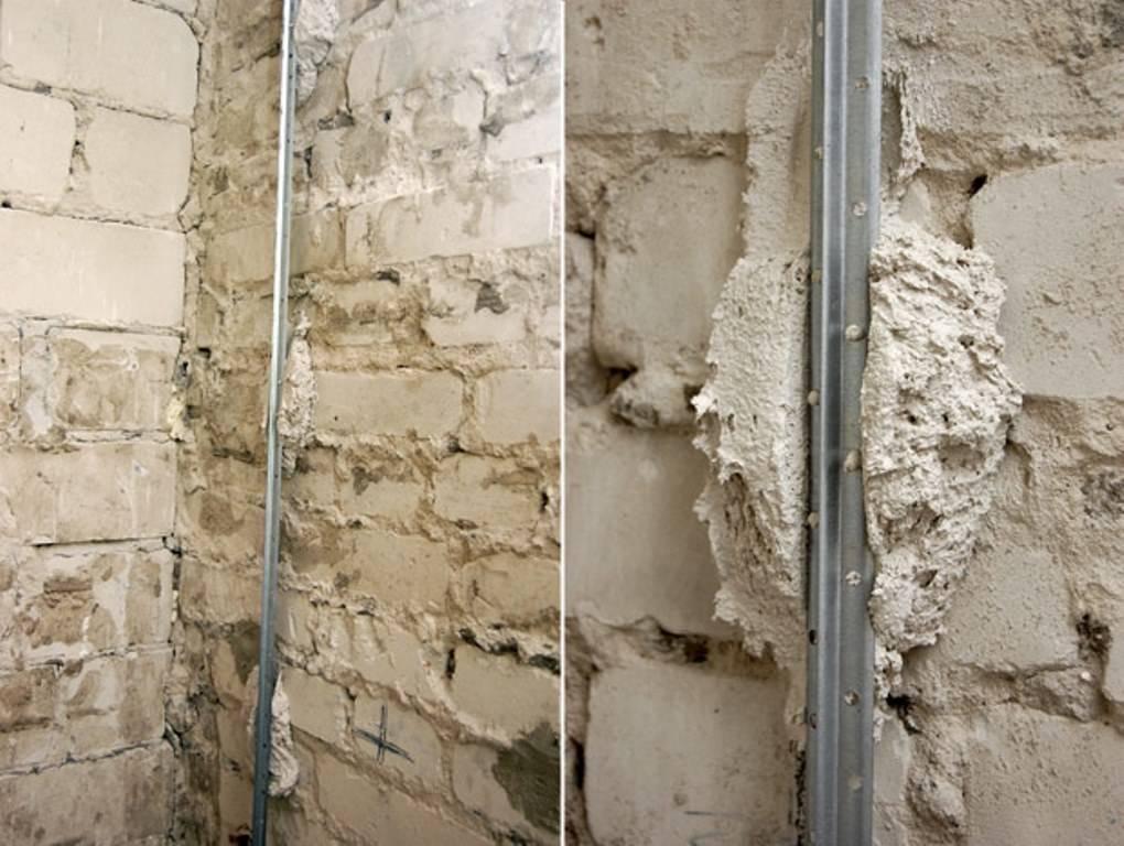 Инструкция по установке маяков на стены перед штукатуркой.   блог сайта lomrem.ru