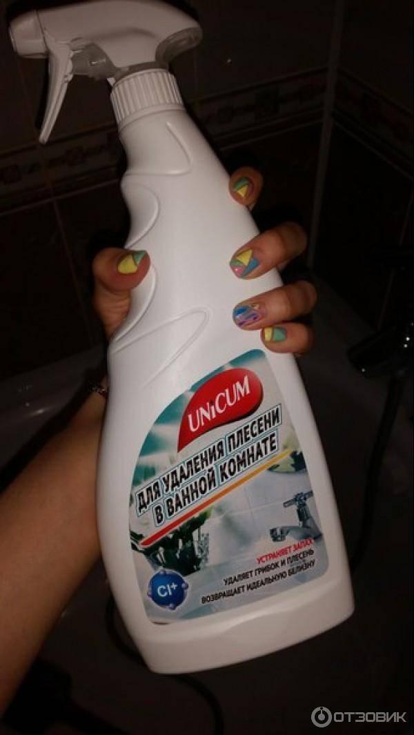 Как убрать плесень в ванной комнате (черные пятна на потолке, между плитками на стене) самостоятельно: народные рецепты, домашние и магазинные средства?