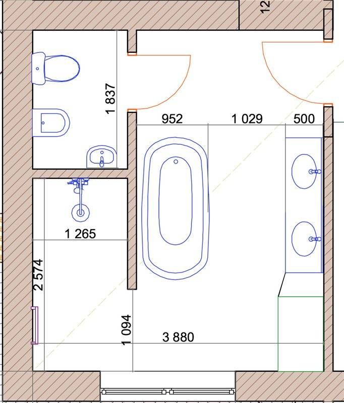 Электропроводка в ванной комнате: ее особенности и правильный монтаж