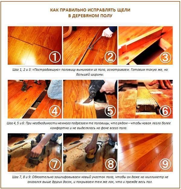 Как укрепить деревянный пол, чтобы не скрипел: причины скрипа и способы по укреплению пола своими руками