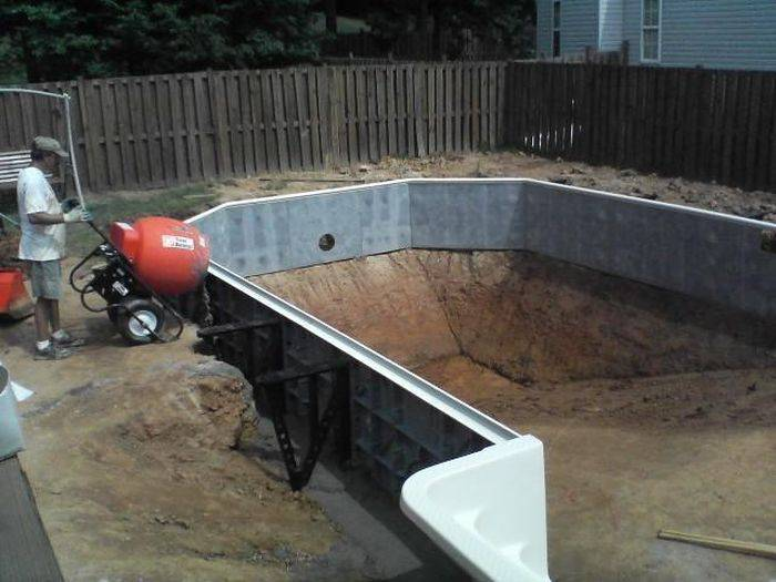 Каркасный бассейн своими руками: пошаговая инструкция