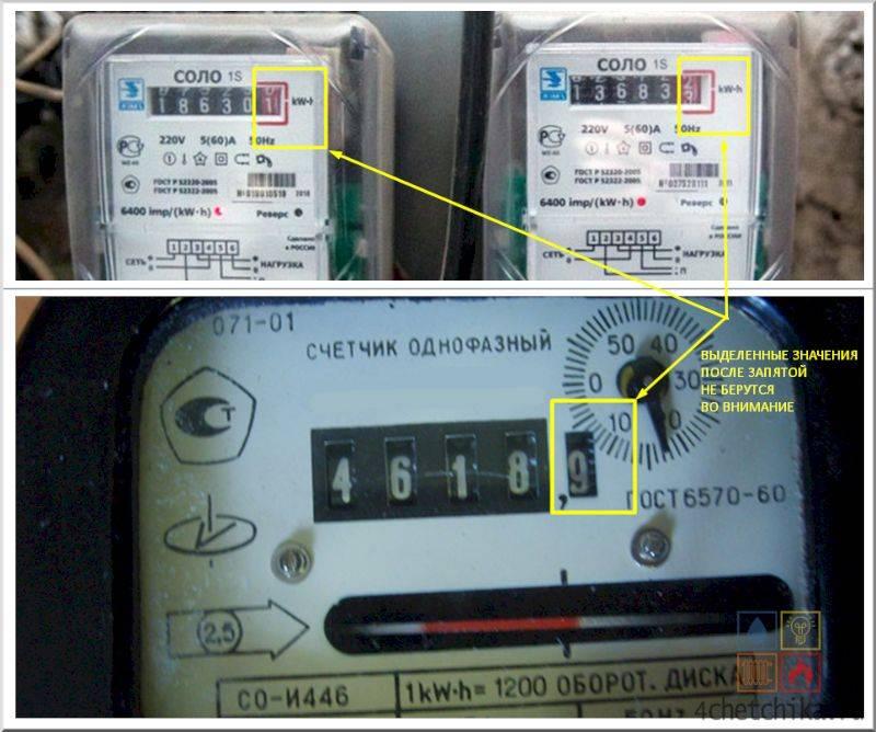 Где посмотреть номер счетчика электроэнергии, и для чего он нужен?