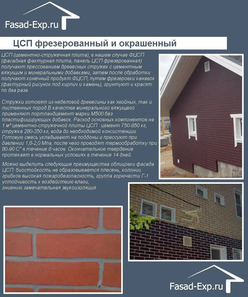 Цсп плиты – практическое применение в строительстве и утеплении домов, теплиц и прочих сооружений