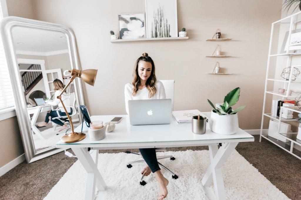 Рабочее место дома: как обустроить домашний офис — hodeys