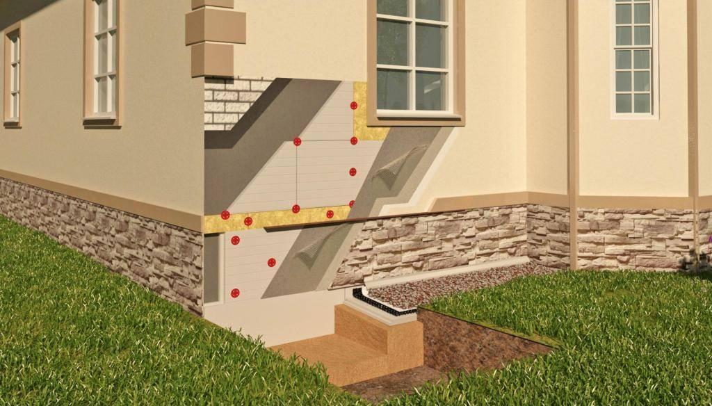 Как сделать цокольный этаж в частном доме