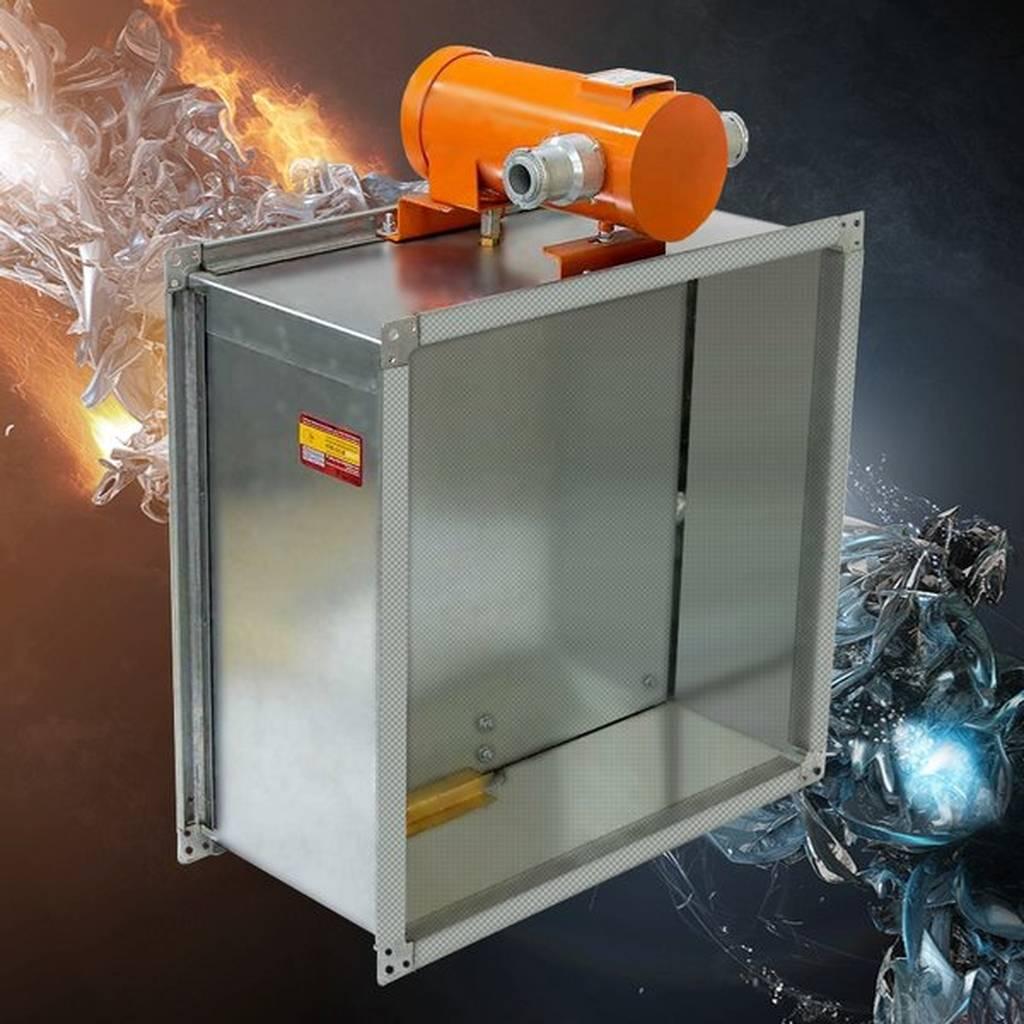 Установка огнезадерживающих клапанов по нормативному документу