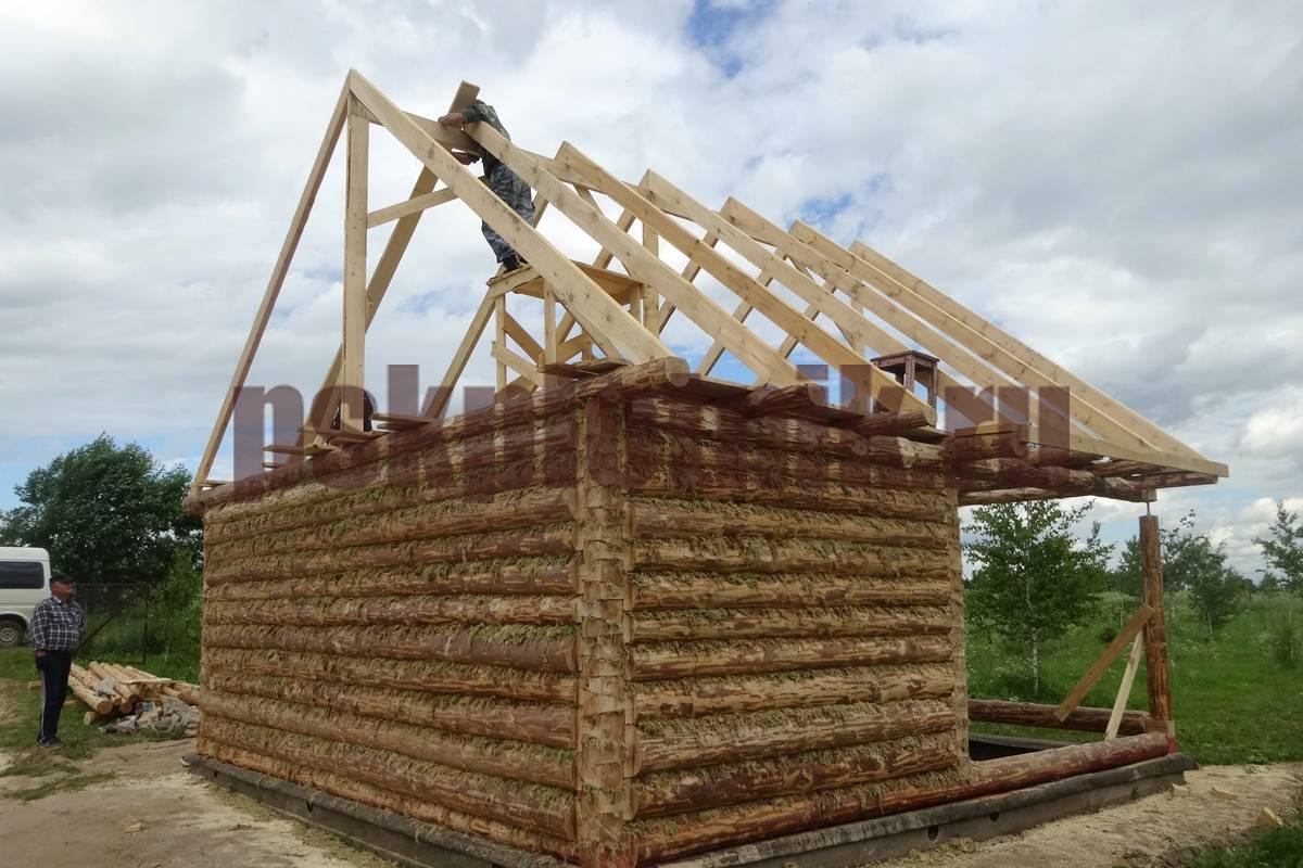Стропила на баню: основа крепкой крыши