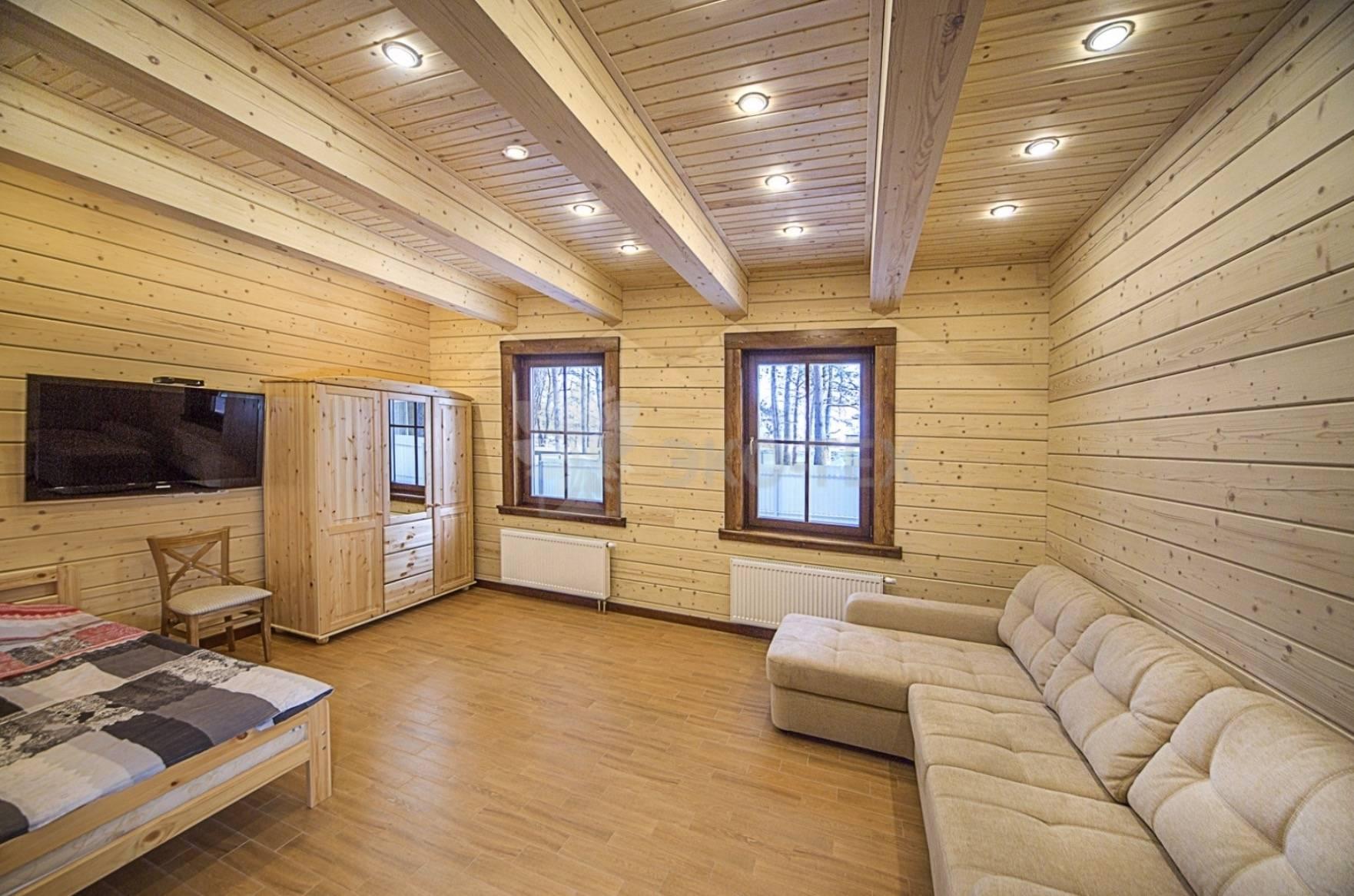 Отделка стен фанерой: облицовка помещения внутри деревянного дома и обшивка стен в квартире, виды модной внутренней отделки