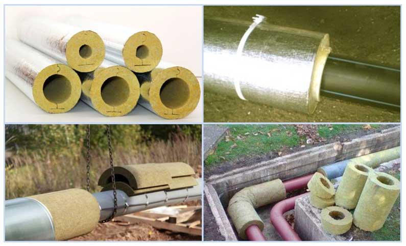 Утепления канализационных труб: как выбрать утеплитель и как утеплить