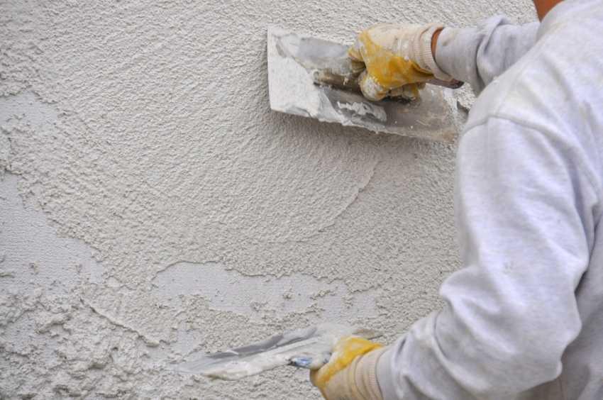 Теплая штукатурка для внутренних работ: изготовление теплой штукатурки и инструкция по оштукатуриванию стен своими руками