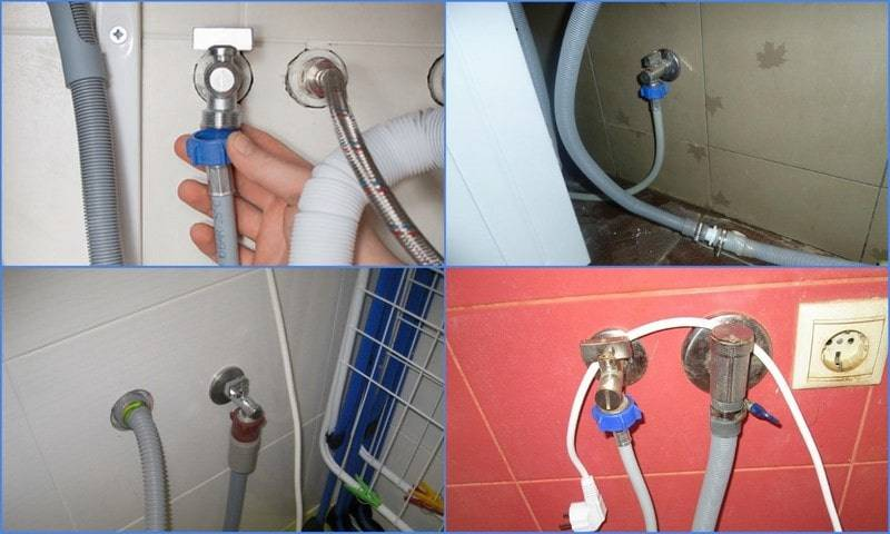 Правила подключения стиральной машины к водопроводу и канализации