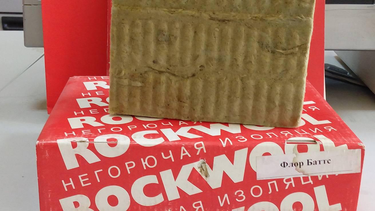Утеплитель rockwool – виды, технические характеристики, использование