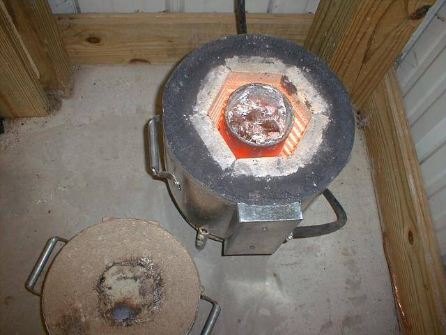 Изготавление муфельной печи своими руками