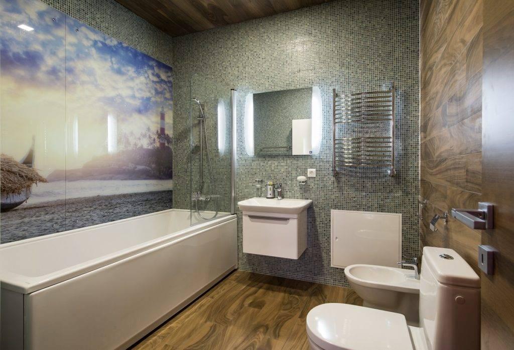 Стены в ванной: какой декор выбрать и как стильно украсить (65 фото)