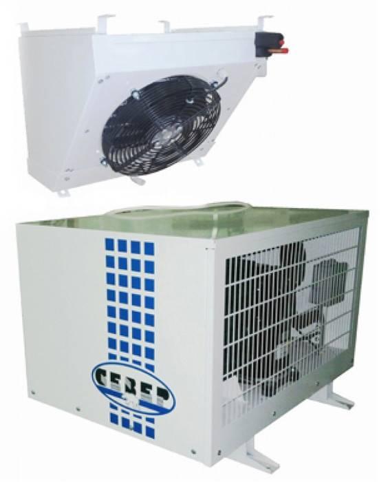 Низкотемпературные и среднетемпературные сплит-системы север на холодильную камеру