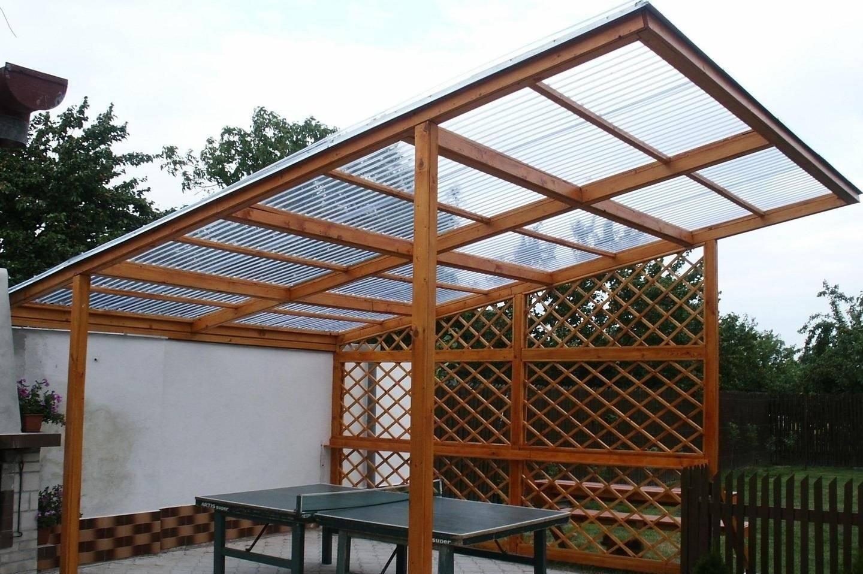 Крыша для беседки: как сделать и чем покрыть, инструкция