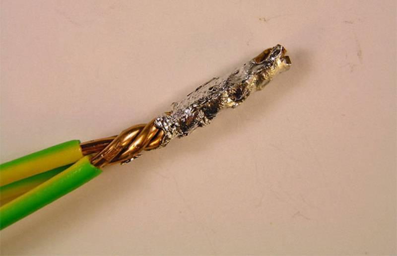 Пайка алюминиевых проводов в домашних условиях