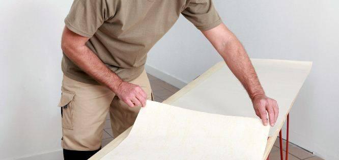 Как правильно клеить стеклообои на стены под покраску