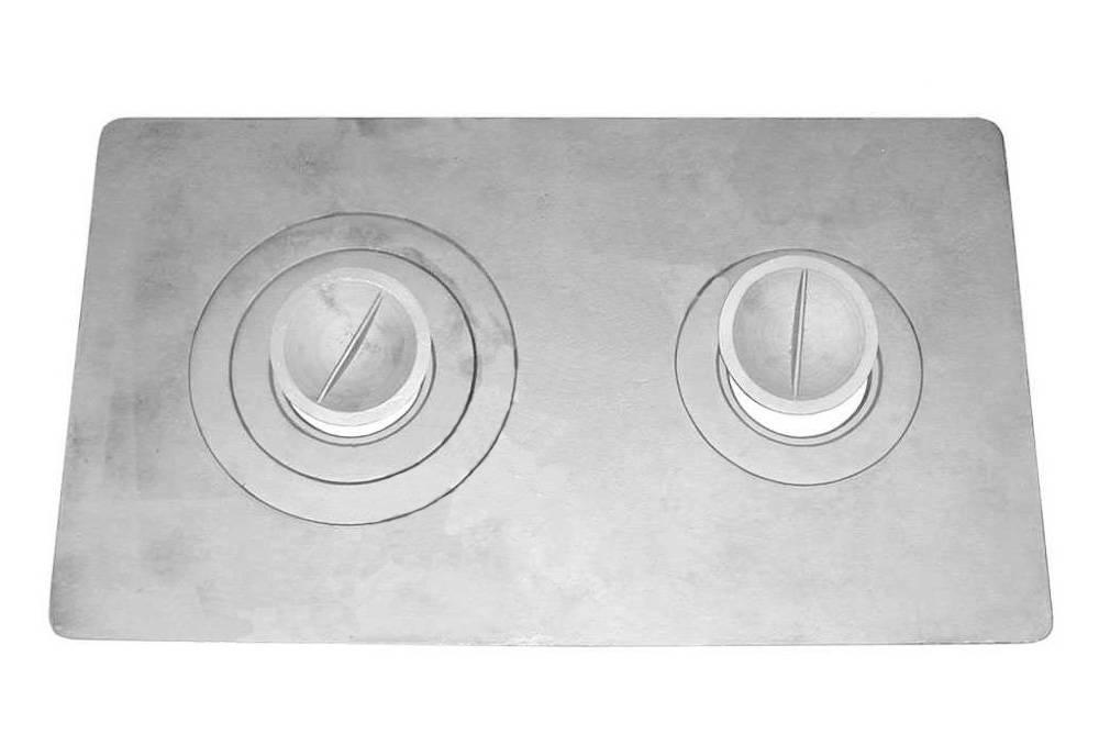 Устройство чугунной плиты для печи (8 фото) (видео)